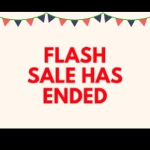 FLASH SALE IS OVER, SORRY!